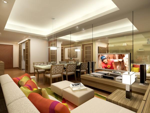 Condominium Interior Design – St. Francis Shangri-la Place