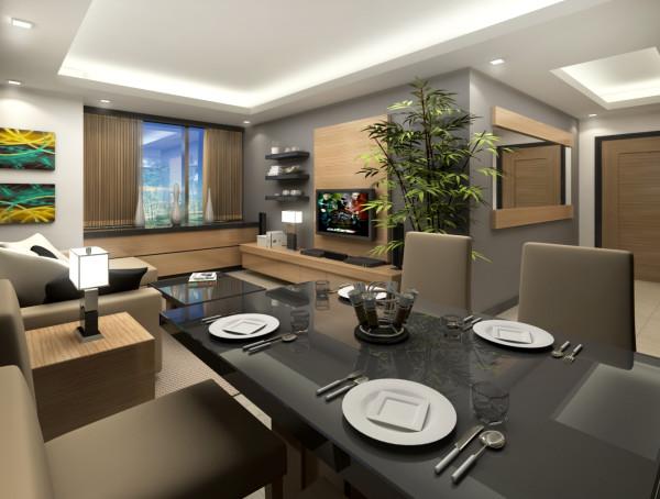 Condominium Interior Design – Crescent Park Residences