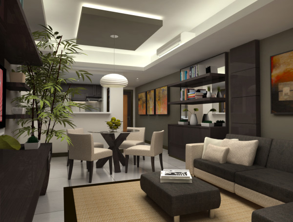 Condominium Interior Design – Joya @ Rockwell (6th Project)